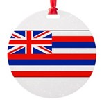 Hawaiiblank.jpg Round Ornament