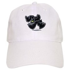 Black Cocker Spaniel Play Baseball Cap