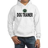 Dog Trainer Green Stripes Hoodie