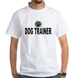 Dog Trainer Green Stripes Shirt