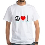Peace Love Clarinet Shirt