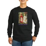 Snow White & Rose Red Long Sleeve Dark T-Shirt