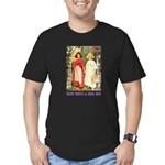 Snow White & Rose Red Men's Fitted T-Shirt (dark)