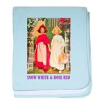 Snow White & Rose Red baby blanket