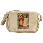 Snow White & Rose Red Messenger Bag