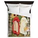 Snow White & Rose Red Queen Duvet