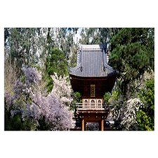 Low angle view of entrance of a park, Japanese Tea