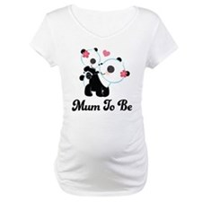 Mum To Be Panda and baby Shirt