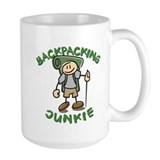 Backpacking Junkie Boy Mug