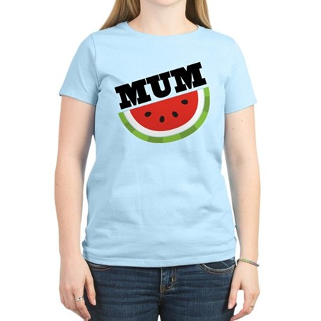 Mum Gift Watermelon Women's Light T-Shirt