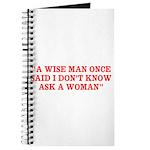 wise man merchandise Journal
