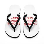 wise man merchandise Flip Flops
