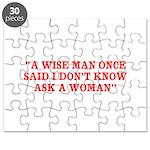 wise man merchandise Puzzle