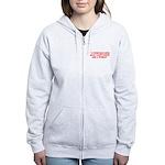 wise man merchandise Women's Zip Hoodie