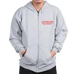 wise man merchandise Zip Hoodie