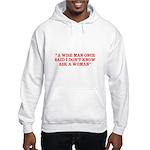wise man merchandise Hooded Sweatshirt