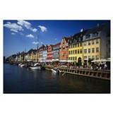 Buildings at the waterfront, Nyhavn, Copenhagen, D