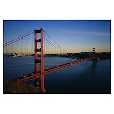Bridge across the sea, Golden Gate Bridge, San Fra