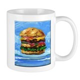 Cheeseburger in the Tropics Coffee Mug