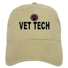 Vet Tech Purple Stripes Baseball Cap