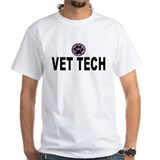 Vet Tech Purple Stripes Shirt