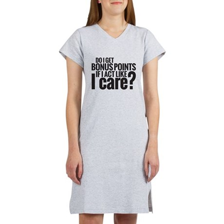 Bonus Points Women's Nightshirt