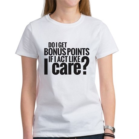 Bonus Points Women's T-Shirt