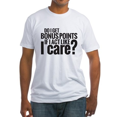 Bonus Points Fitted T-Shirt