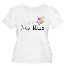 New Mum Butterfly T-Shirt