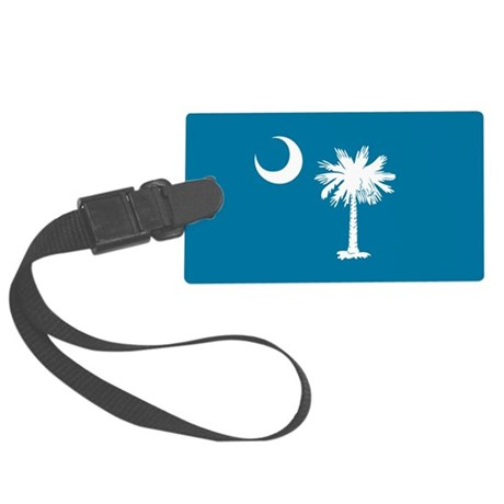 SC Palmetto Moon Large Luggage Tag