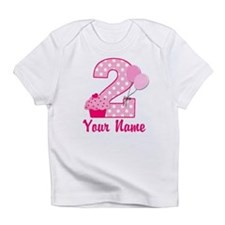2nd Birthday Cupcake Infant T-Shirt