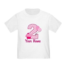 2nd Birthday Cupcake T