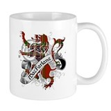 MacFarlane Tartan Lion Mug