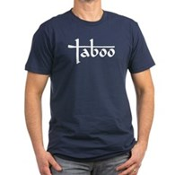 Taboo Logo Men's Fitted T-Shirt