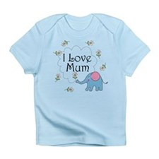 I Love Mum Cute Infant T-Shirt