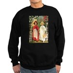 Snow White & Rose Red Sweatshirt (dark)
