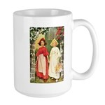Snow White & Rose Red Large Mug