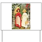 Snow White & Rose Red Yard Sign