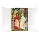 Snow White & Rose Red Pillow Case