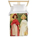 Snow White & Rose Red Twin Duvet