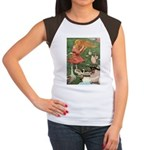 The Goose Girl Women's Cap Sleeve T-Shirt