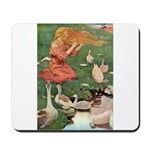 The Goose Girl Mousepad