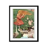 The Goose Girl Framed Panel Print
