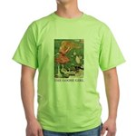 The Goose Girl Green T-Shirt