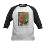 The Goose Girl Kids Baseball Jersey
