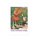 The Goose Girl Sticker (Rectangle 10 pk)