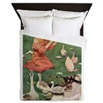 The Goose Girl Queen Duvet