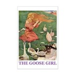 The Goose Girl Mini Poster Print