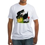 Japanese Bantam Group Fitted T-Shirt