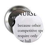 "Nurse Because... 2.25"" Button"